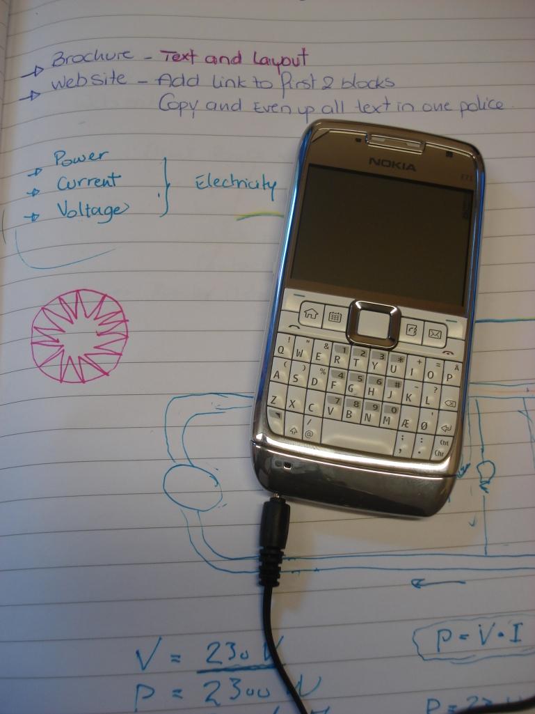 Mon Nokia E71 White Steel