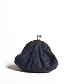Porte Monnaie Framboise Bleu Mat nat & nin
