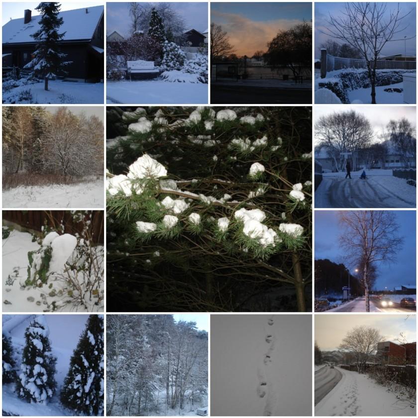 Snow in Stavanger