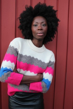 A pretty fancysweater