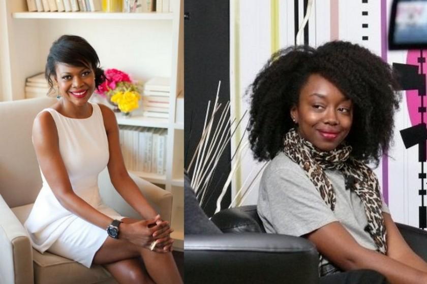 Felicia Walker Benson (Thisthatbeauty.com) et Fatou N'Diaye (Blackbeautybag.com): my beauty Gurus! (Photo source: Web)